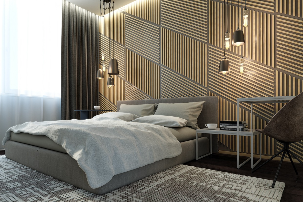 Dark Neutrals and Clean Lines Unite Six Stylish Homes on Creative Wall  id=93256