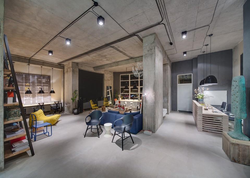 garage barn style building ideas - A Modern fice Space that Looks Like an Urban Loft