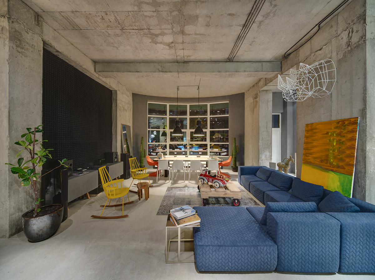 This Modern Office E Is As Stylish And Livable Any Urban Loft