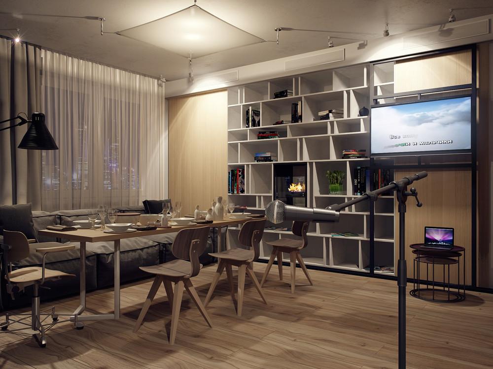 Apartment Party Setupinterior Design Ideas