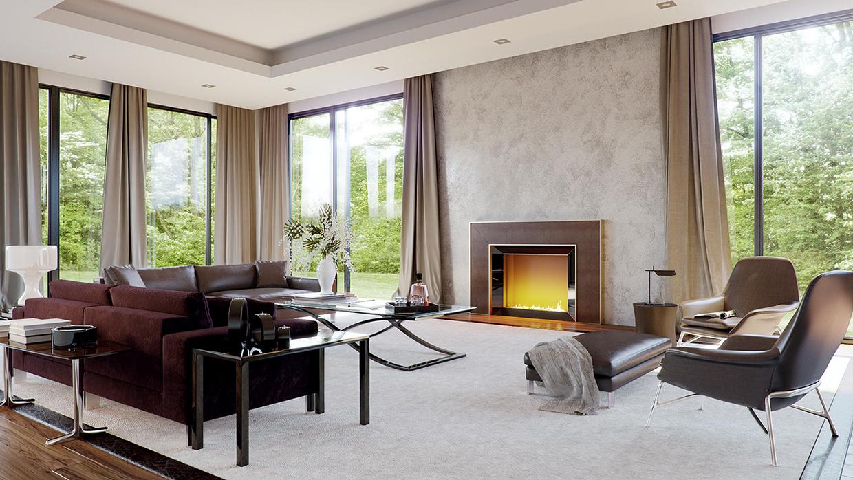 Image of: Burgundy Sofa Living Roominterior Design Ideas