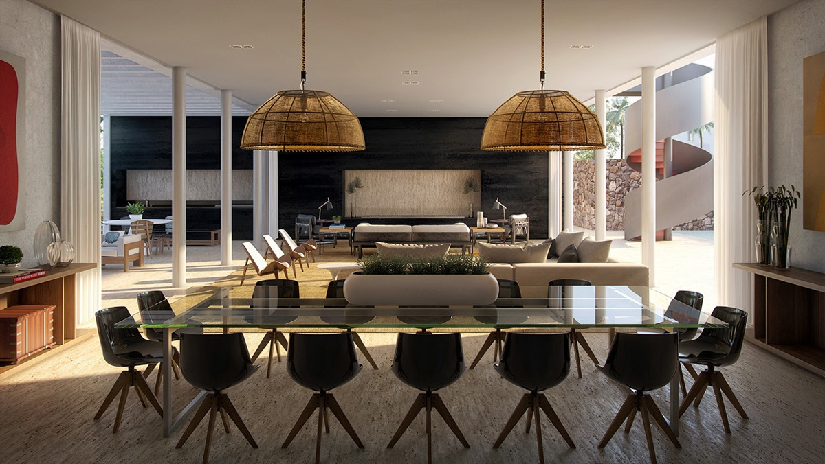 modern dining room design. Like Architecture  Interior Design Follow Us Huge Modern Dining Room Ideas