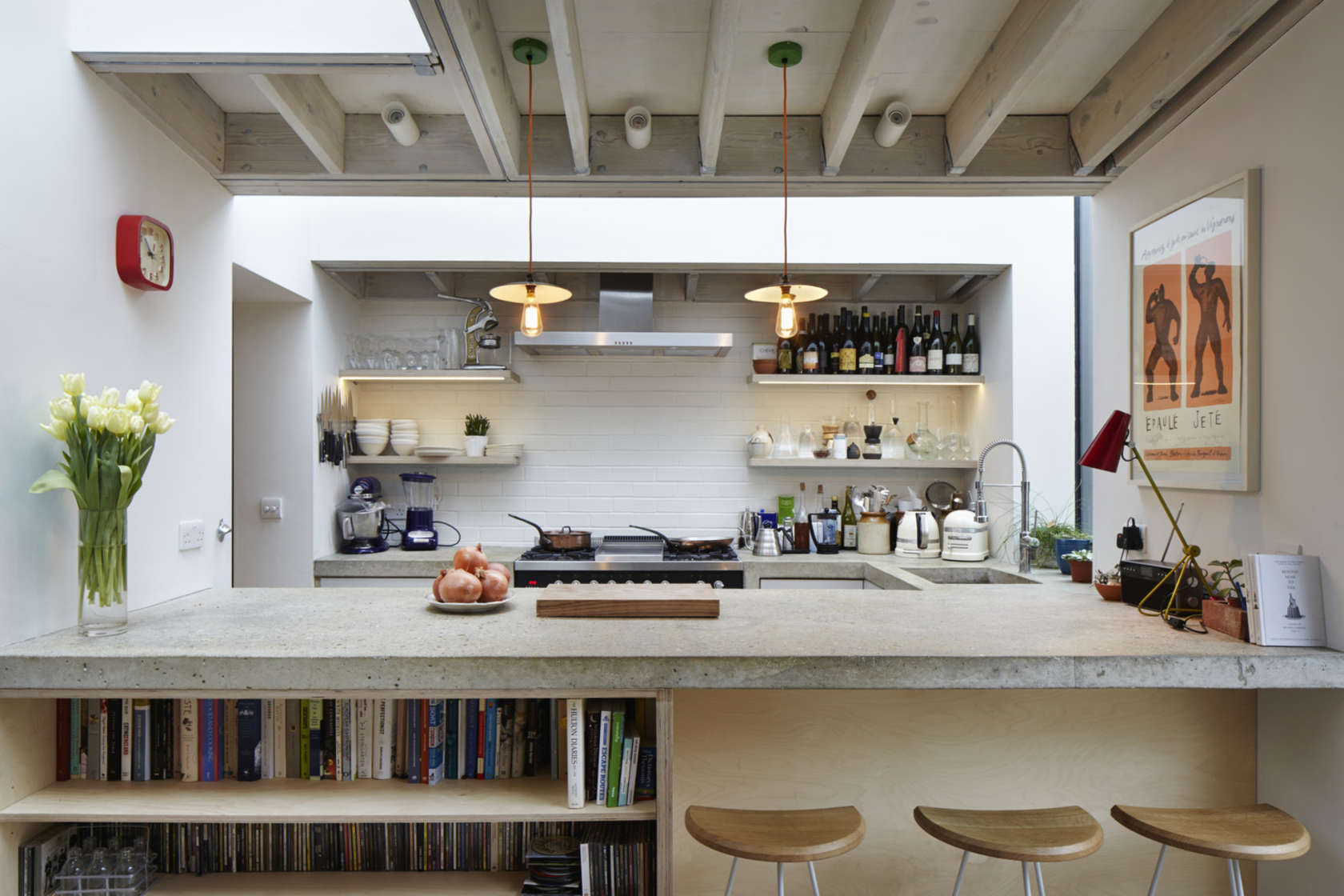 20 sleek kitchen designs with a beautiful simplicity rh home designing com