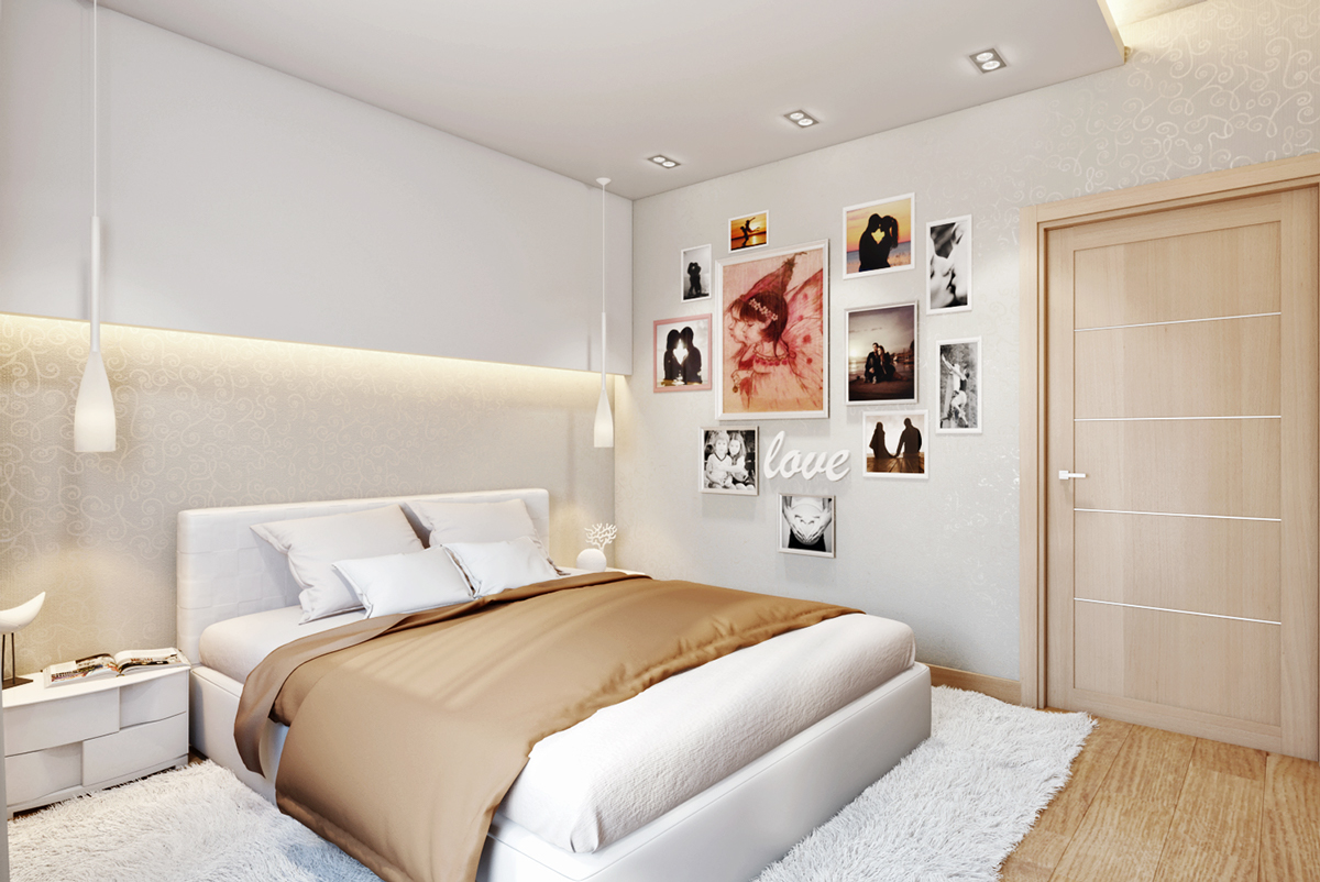 a cozy apartment in kyiv with soft citrus accents. Black Bedroom Furniture Sets. Home Design Ideas