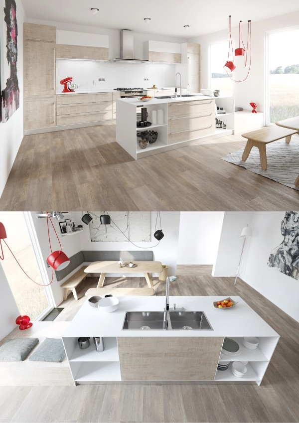 wooden kitchen interior design.  20 Sleek Kitchen Designs With A Beautiful Simplicity
