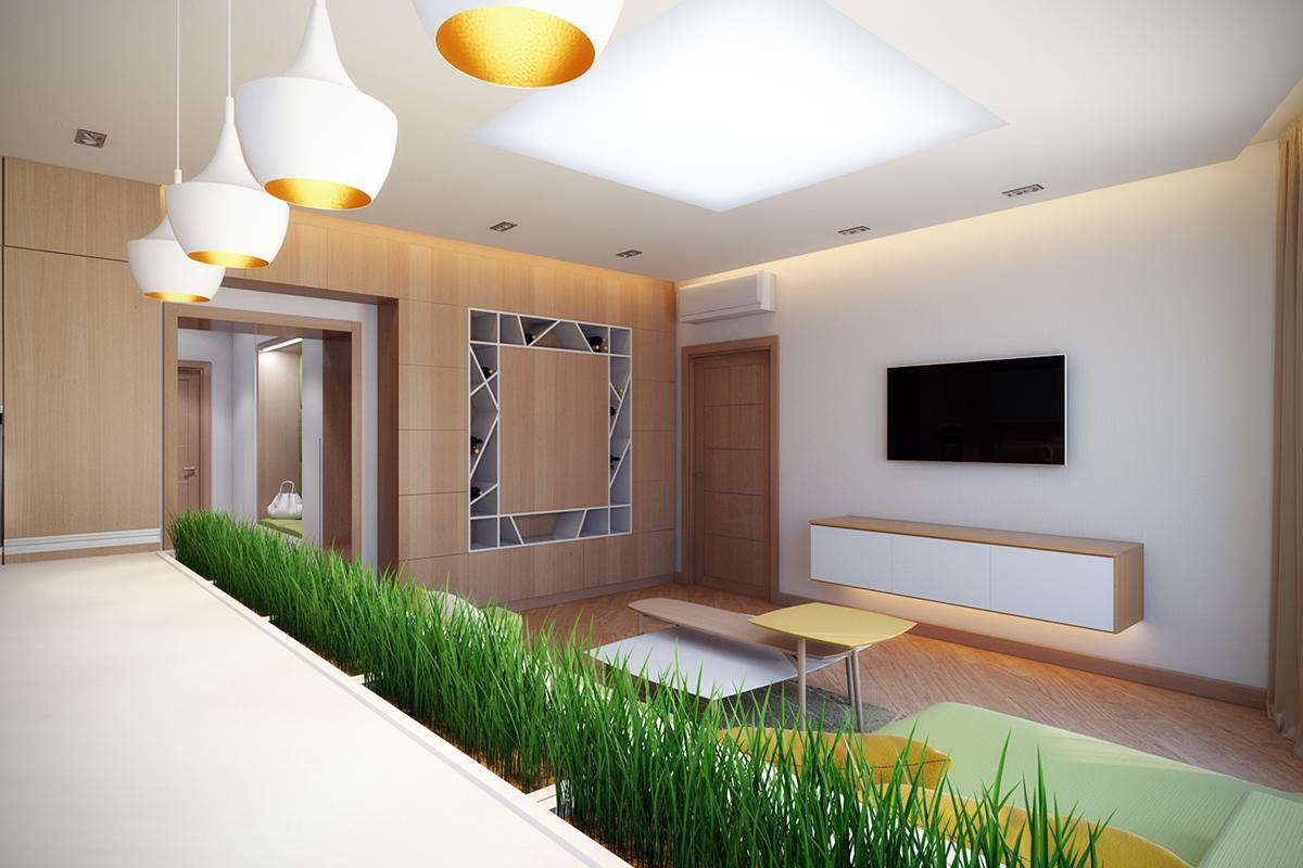 Reflective Light Fixtures Interior Design Ideas