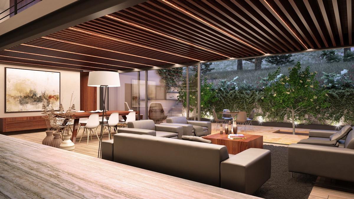 Sunken Living Roominterior Design Ideas