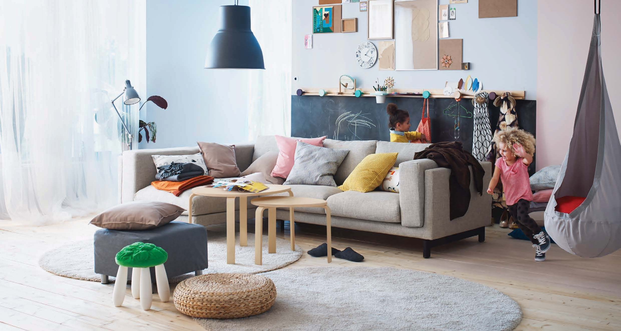 artsy-living-room-ikea | Interior Design Ideas.