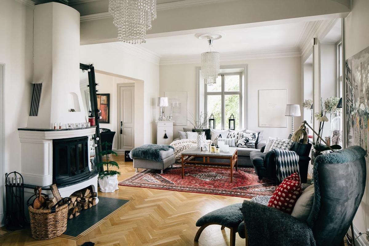 scandinavian living room design ideas inspiration. Black Bedroom Furniture Sets. Home Design Ideas