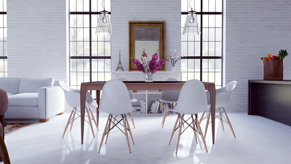 Scandinavian Dining Room Design Ideas