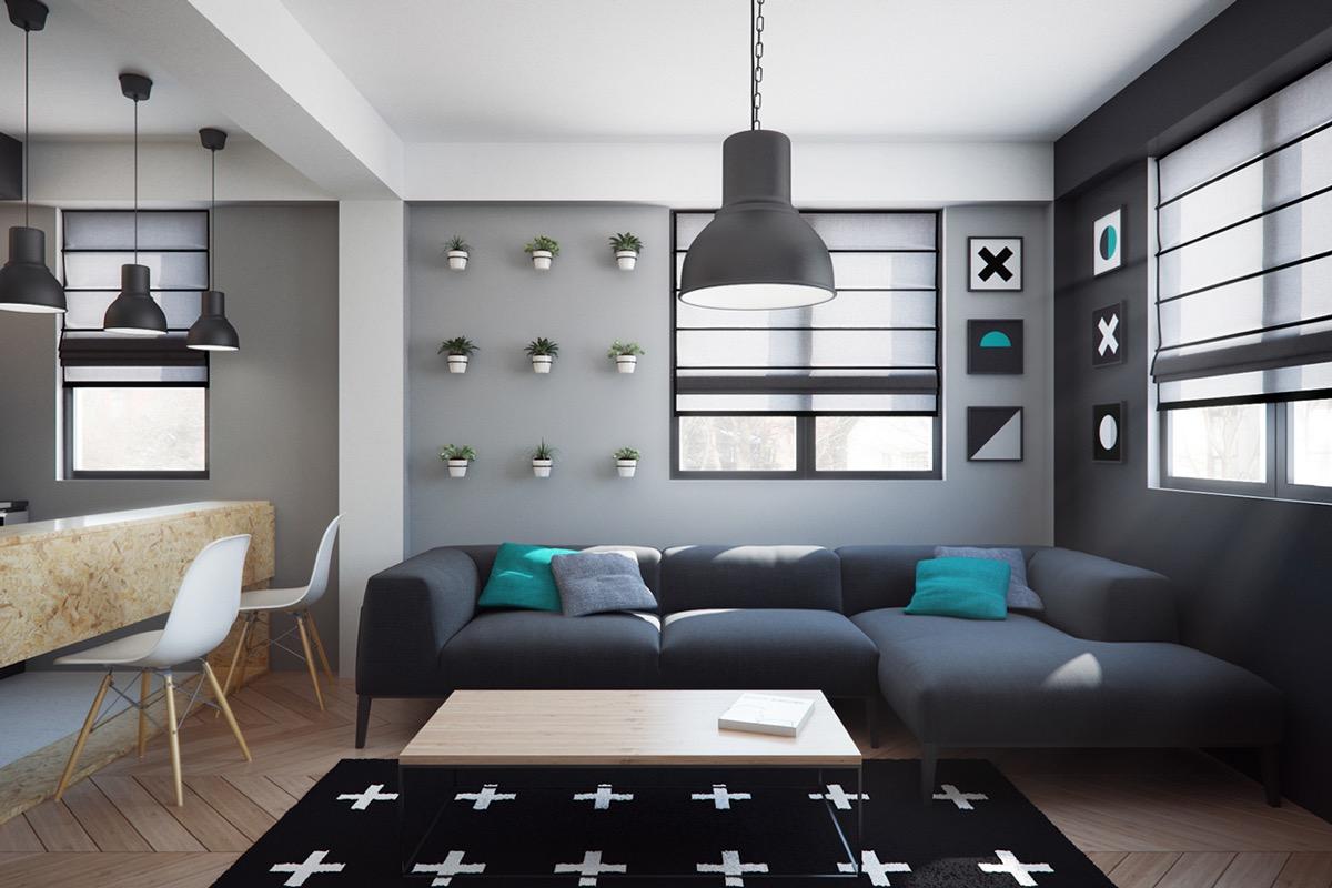 Ultra tiny home design 4 interiors under 40 square meters - Casas economicas y modernas ...