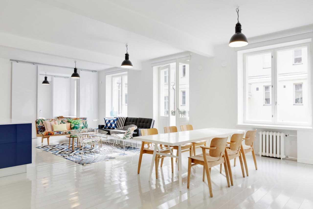 scandinavian dining room design ideas inspiration rh home designing com Mid Century Modern Dining Room Mid Century Modern Dining Room