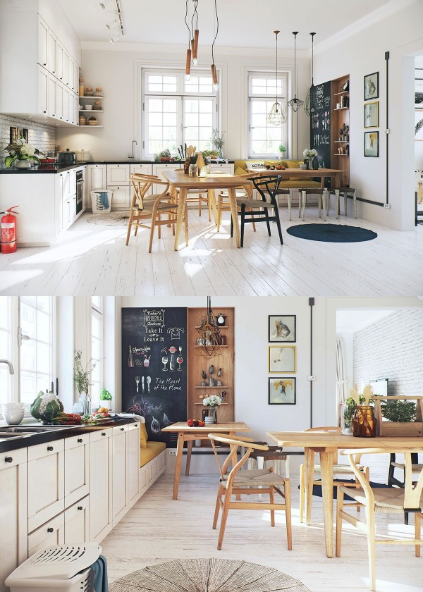 Scandinavian Living Room: Scandinavian Dining Room Design: Ideas & Inspiration