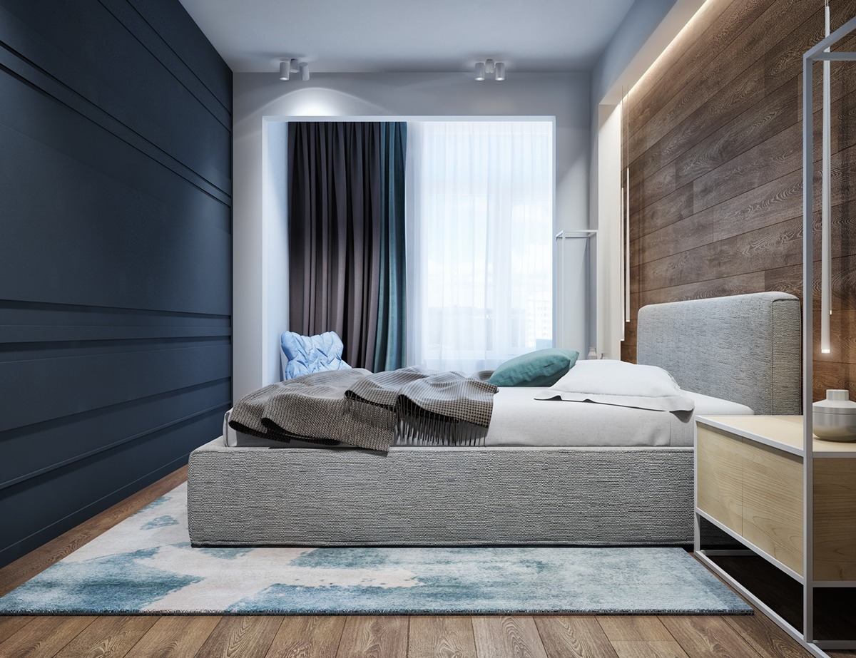 luxury apartment bedroom.  2 Luxury Apartment Designs For Young Couples