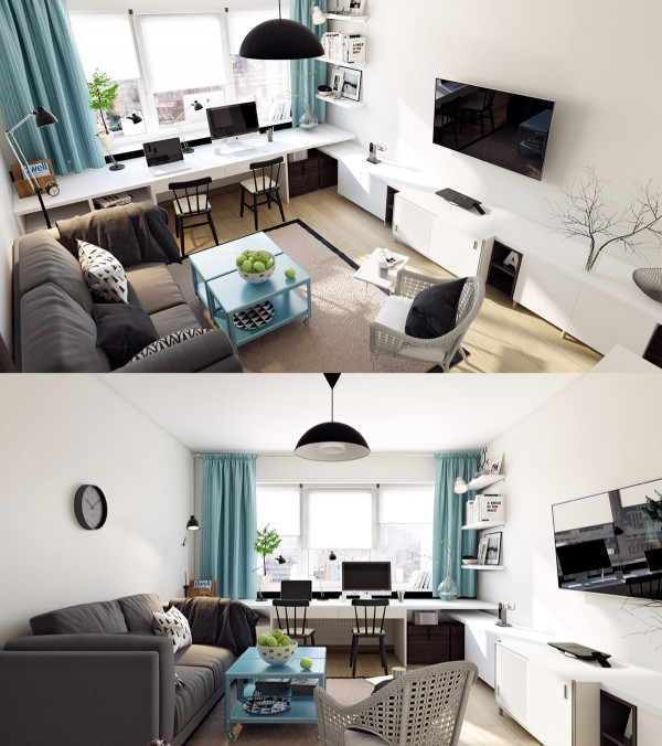 22 Inspirational Ideas Of Small Living Room Design: Scandinavian Living Room Design: Ideas & Inspiration