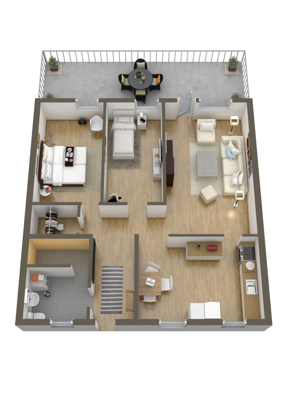3 More 3 Bedroom Home Floor Plans