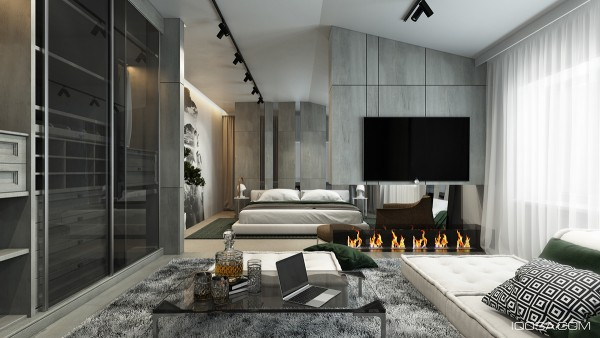A Moscow House Uses Texture to Create Interest on Interior:ybeqvfpgwcq= Modern House Ideas  id=61301