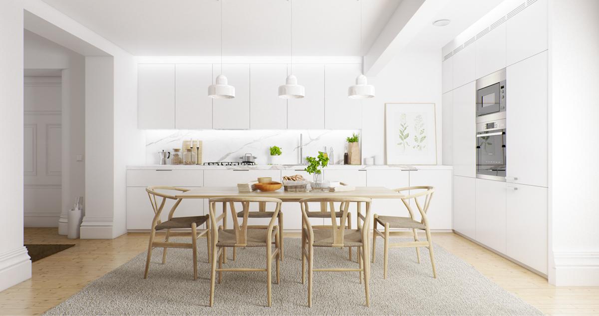 Scandinavian dining room design ideas inspiration