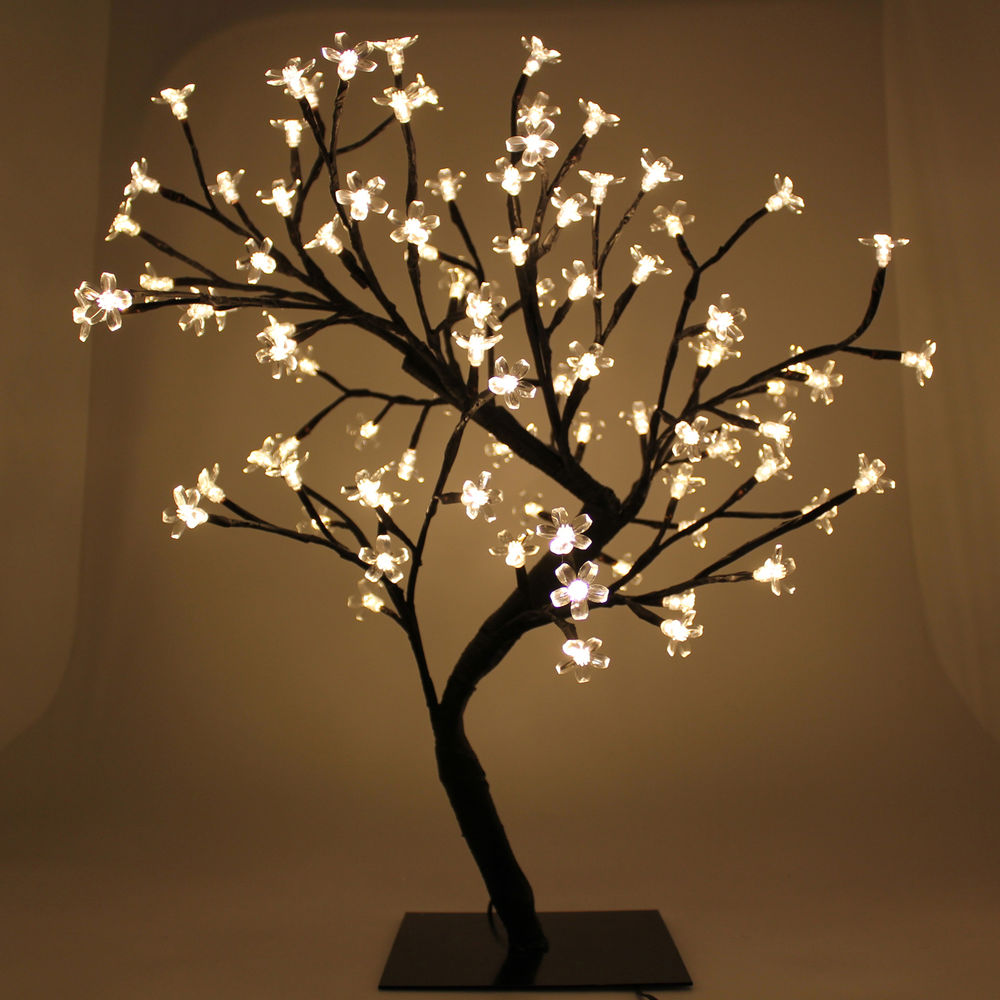 Ornamental Cherry Blossom Lamp