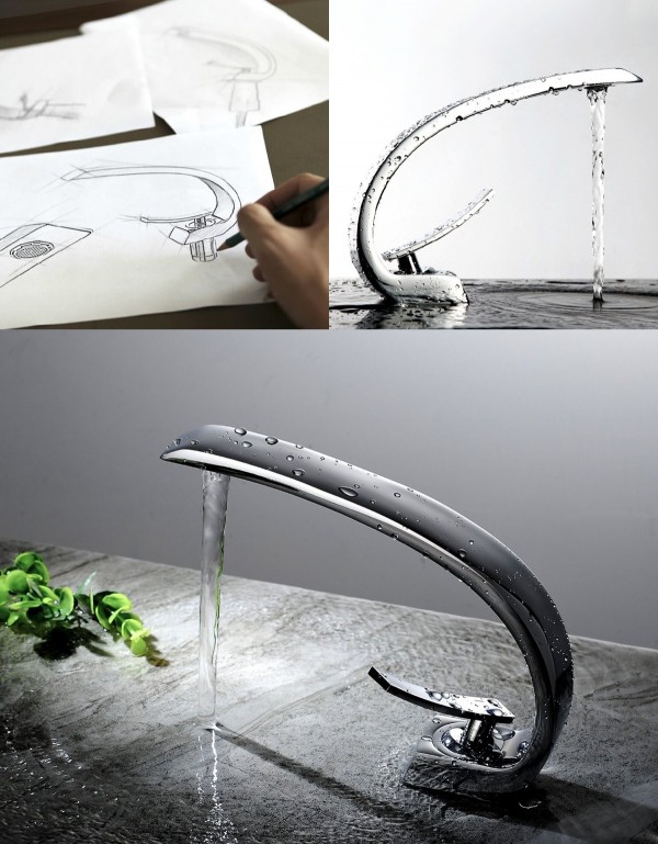 50 Uniquely Beautiful Designer Faucets You Can Buy Right Now
