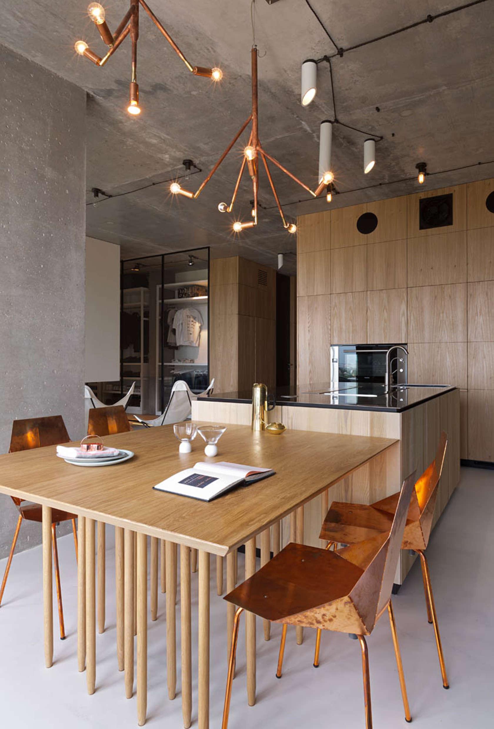 Image of: Copper Light Fixturesinterior Design Ideas