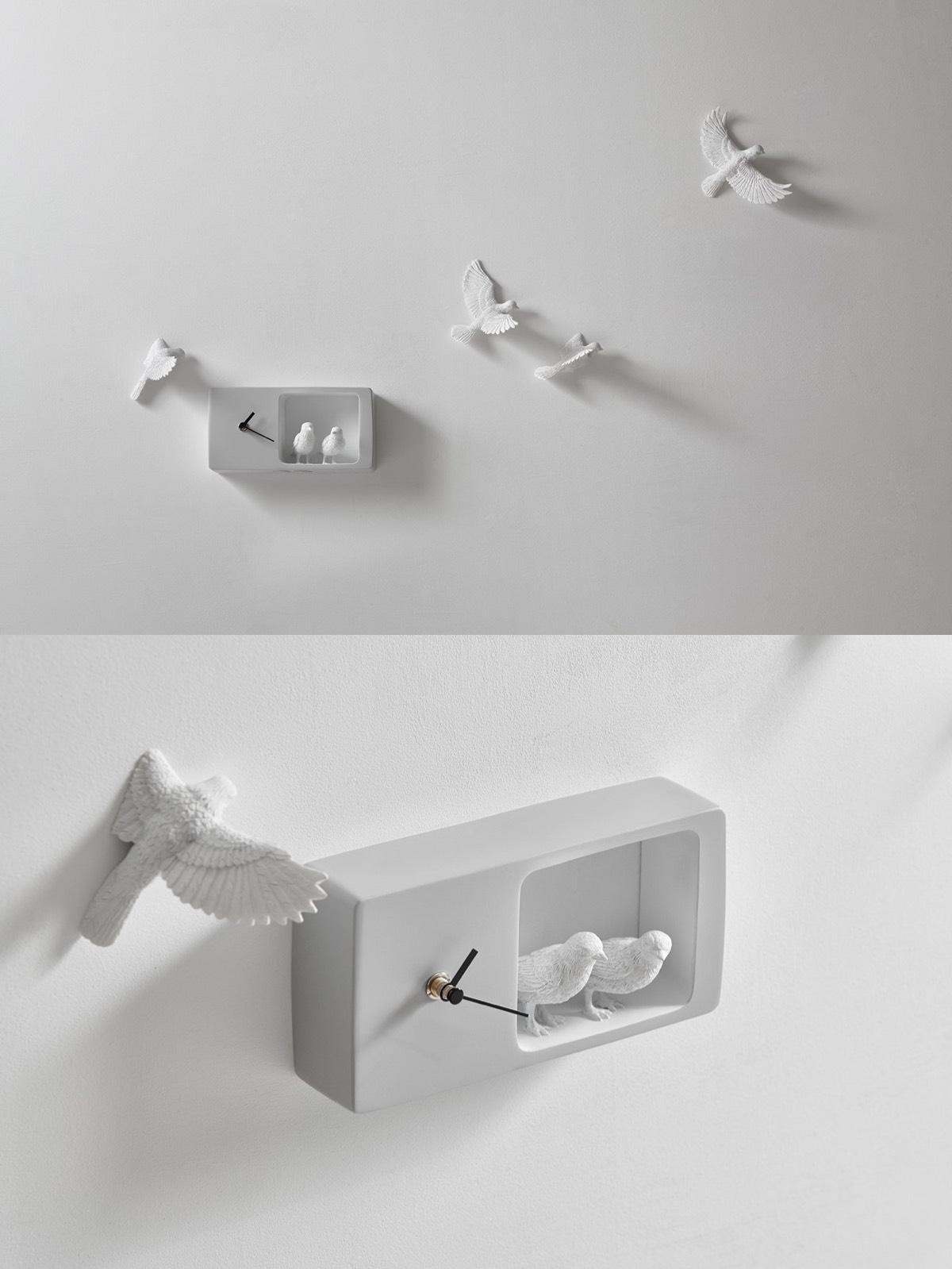Cute Wall Clock Interior Design Ideas