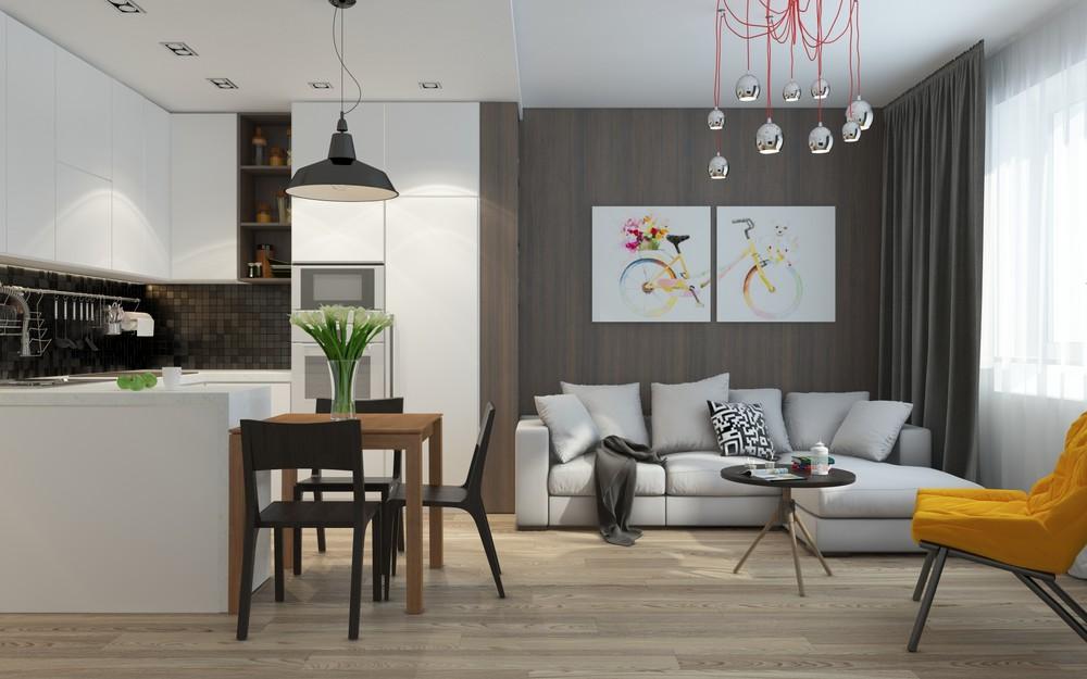 5 apartment designs under 500 square feet - 500 square foot apartment ...