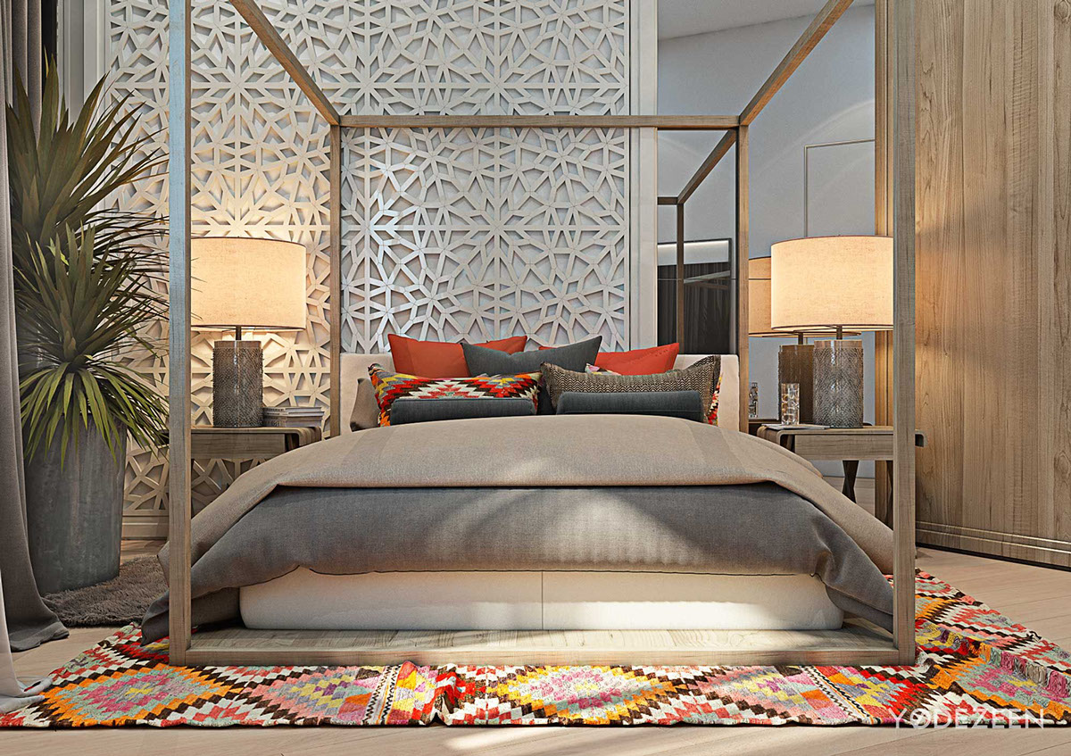 Intricate Wall Patterninterior Design Ideas