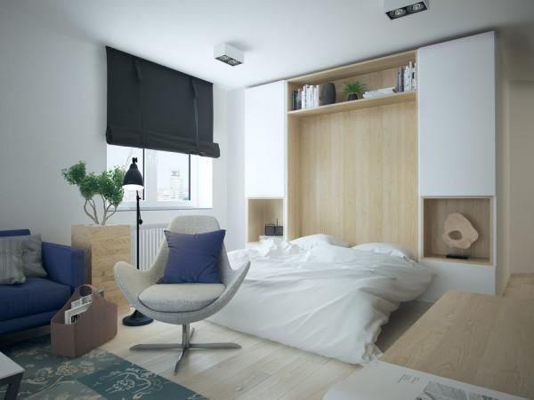 Modern Apartment Design Pictures: 5 Apartment Designs Under 500 Square Feet