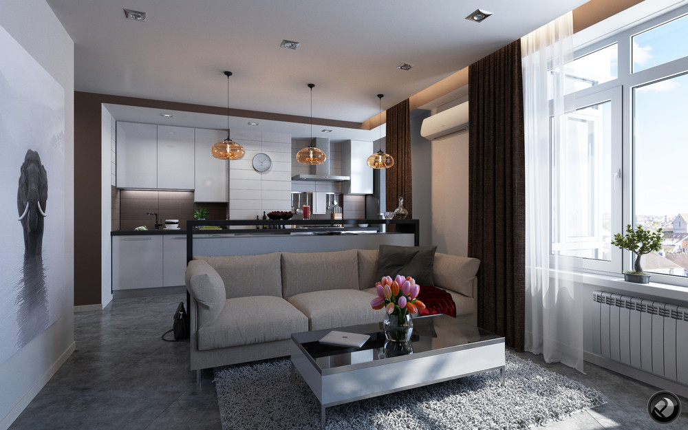 5 apartment designs under 500 square feet - How much to furnish a 2 bedroom apartment ...