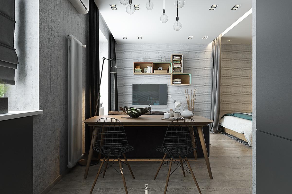 40 square meter apartment
