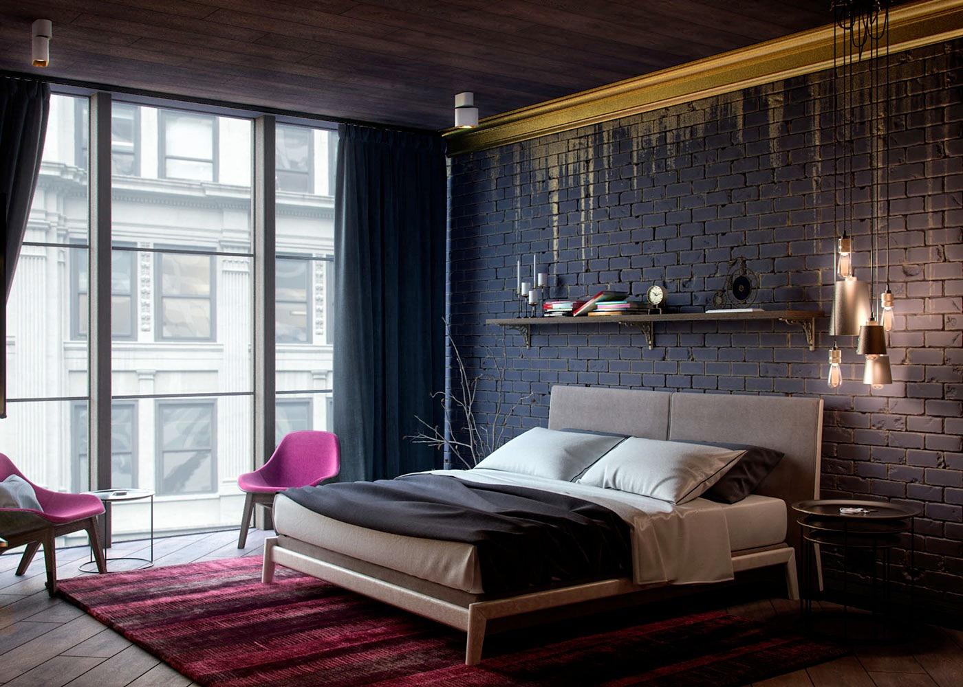 Black Gold Bedroominterior Design Ideas