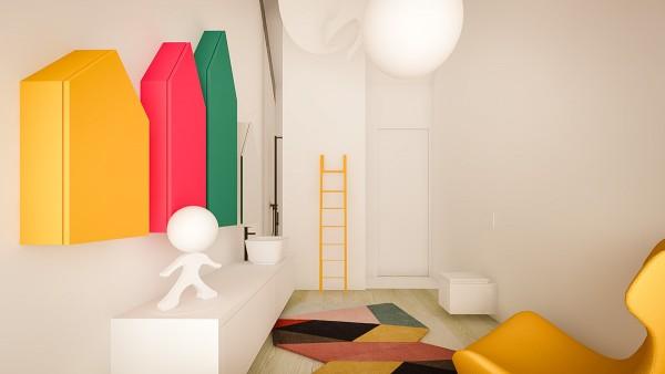 Bright design ideas 3 creative interiors that utilize bright accents bright design ideas