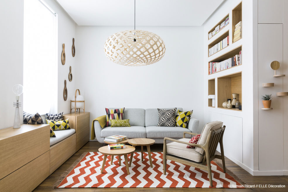 2 small and cute french apartments under 50 square meters