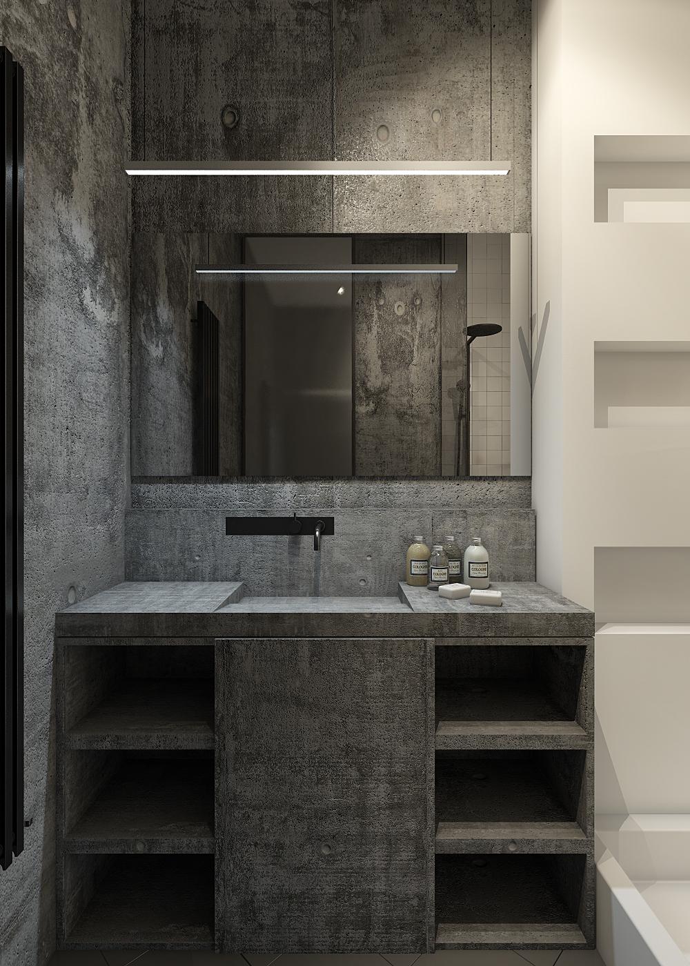 Eclectic Apartment Kitchen