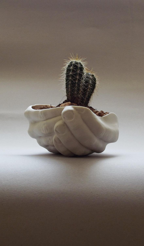 Hand Planter Interior Design Ideas
