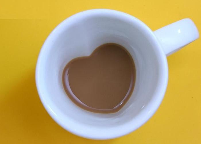 Heart Shaped Coffee Mug Interior Design Ideas