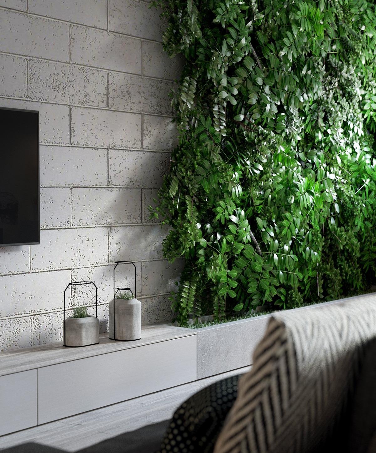 Indoor Wall Garden Ideas