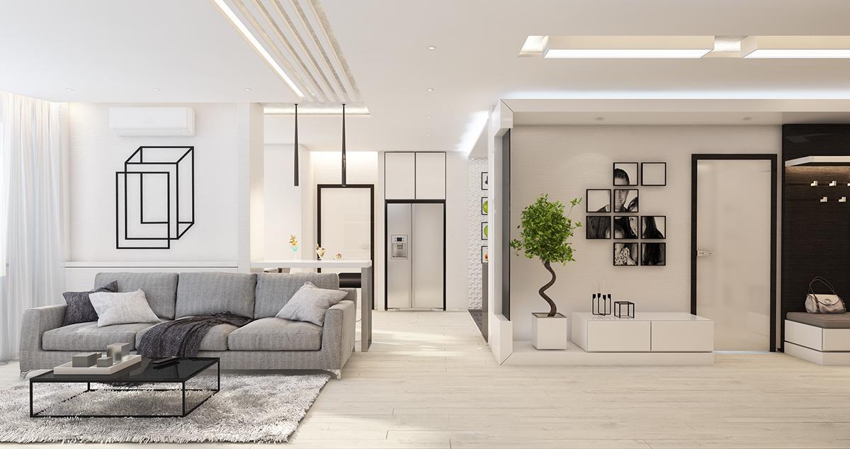 Light Wood Flooring Interior Design Ideas