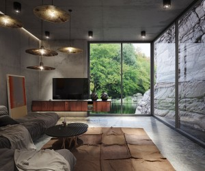 Four Homes That Feature Exposed Concrete