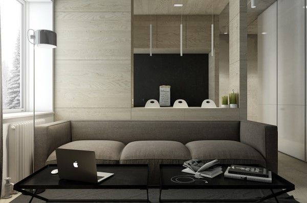Dark Neutral Themed Interiors Ideas Inspiration