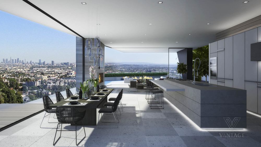 Beautiful Dining Room View