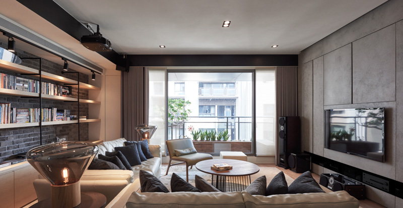 A stylish family apartment from made go design