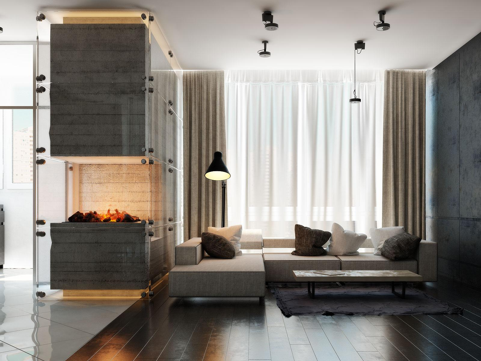 3 Modern Homes With Amazing Fireplaces