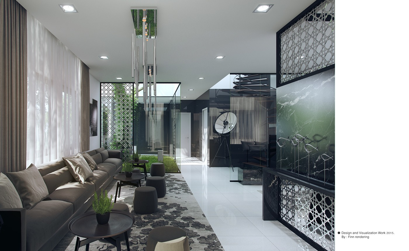 3 Natural Interior Concepts With Floor To Ceiling Windows