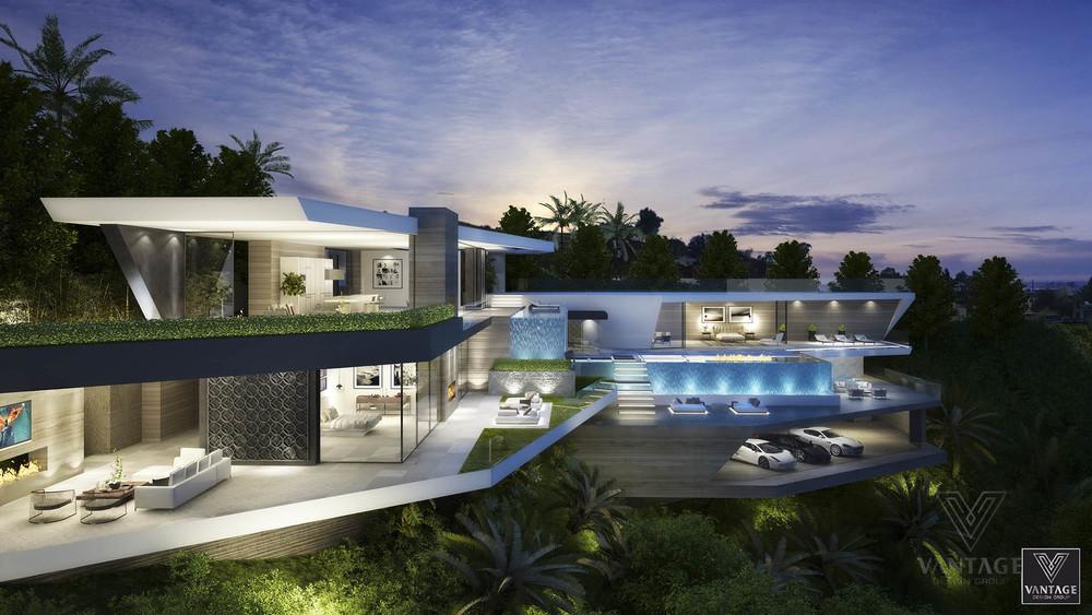 hillside architecture   Interior Design Ideas.