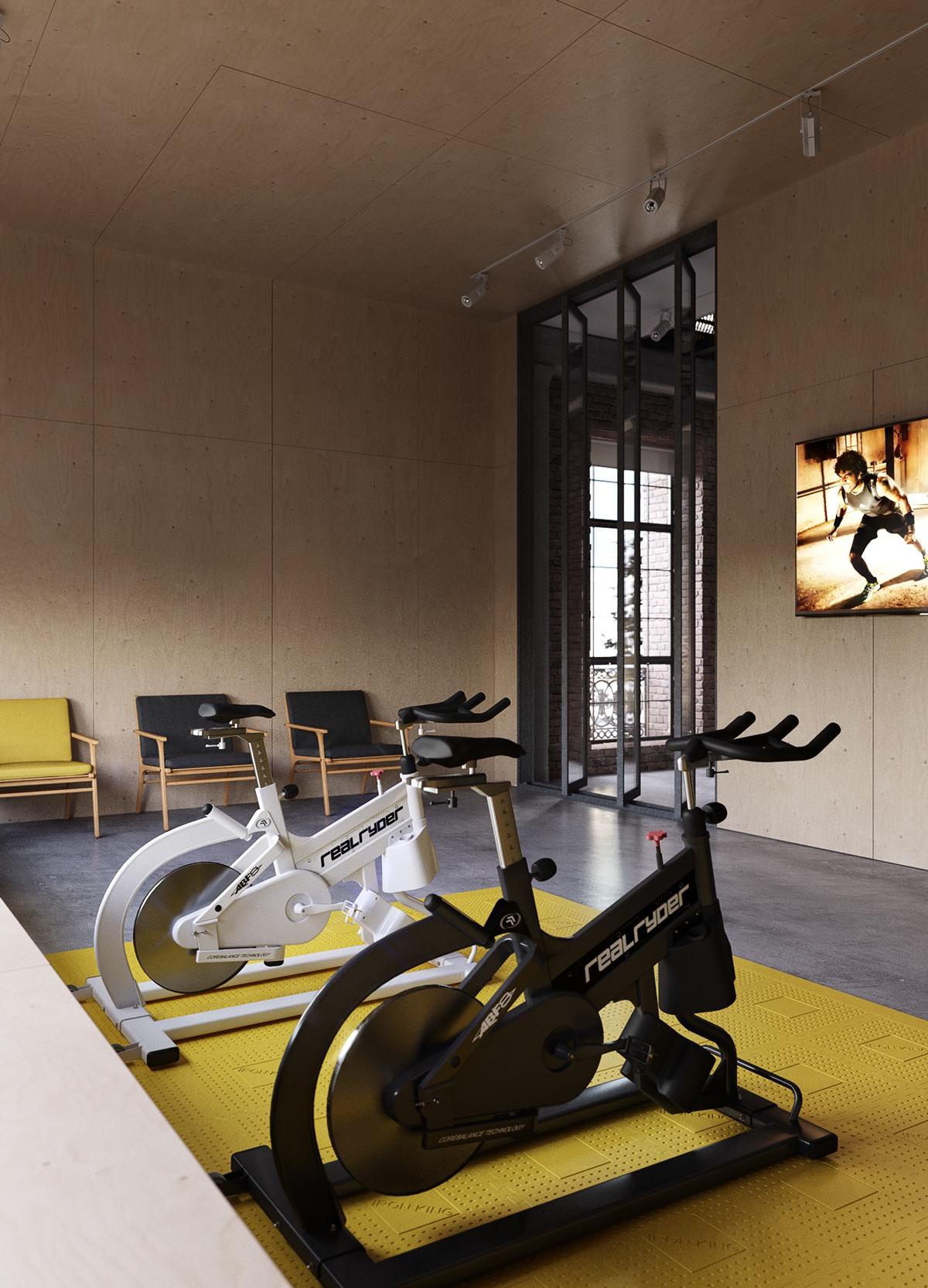 Home Gym Decor Ideas Interior Design Ideas