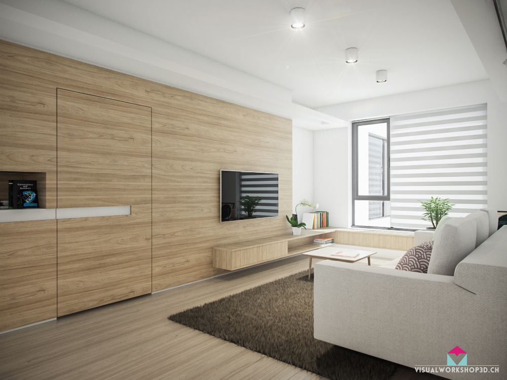 4 sleek interiors where wood takes center stage - Interior design wood walls ...