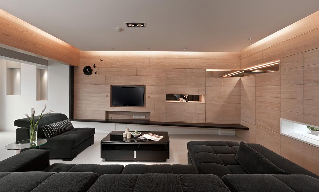 Light Wood Panel Designinterior Design Ideas