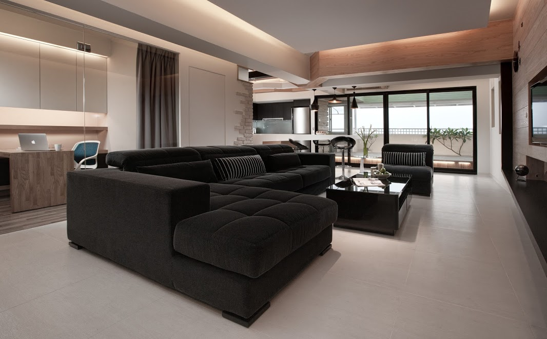 Living room wood accents 4 sleek interiors where wood takes center stage